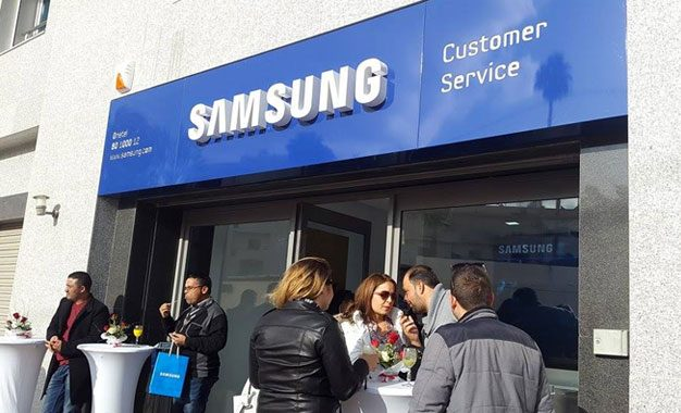Inauguration à Sfax du 2e Samsung Customer Service Center