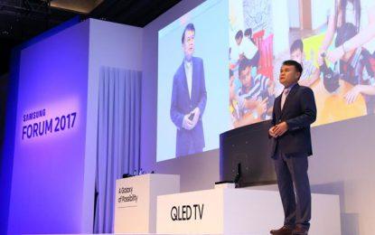 Samsung Mena Forum 2017 : Des innovations en série