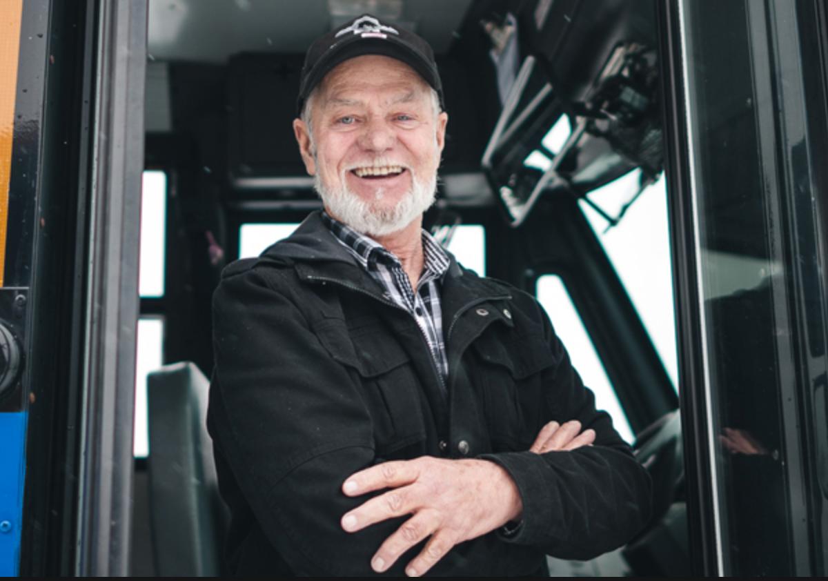 Conducteur de bus à Vancouver