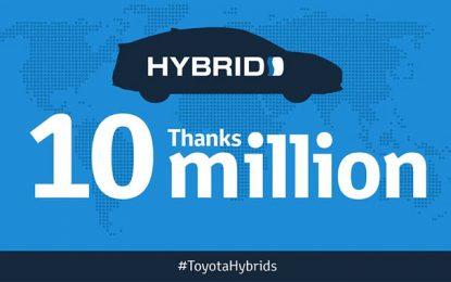 Toyota a vendu 10 millions d'hybrides le monde
