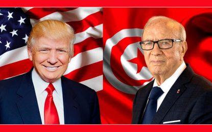 Donald et Melania Trump louent le «leadership exceptionnel» de Béji Caid Essebsi