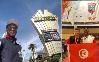 Taekwondo : Yassine Trabelsi décroche l'argent à l'Open US