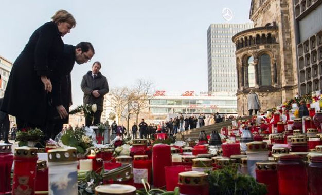 Youssef Chahed et Angela Merkel Berlin