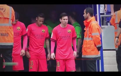 Barcelone-Sporting Gijon en direct / Live streaming