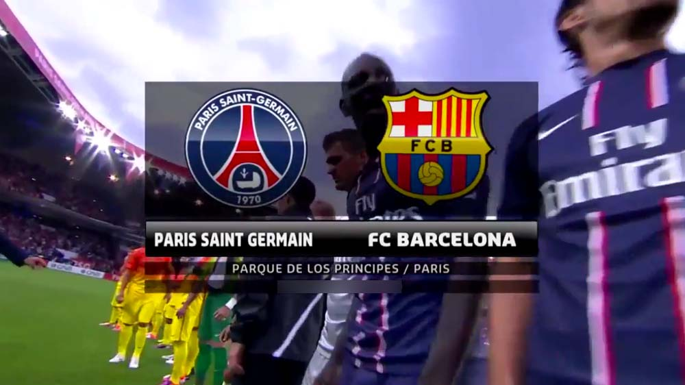 Rencontre psg barcelone en direct
