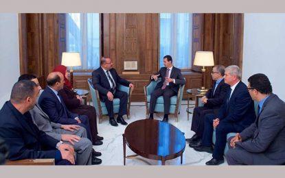 Syrie : Bachar Al-Assad tend la main à la Tunisie