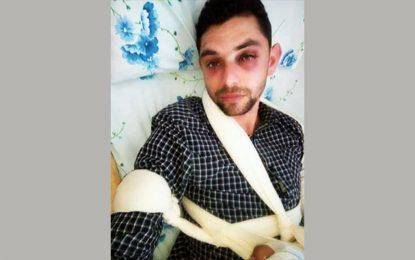 Béja : Colère des policiers après l'agression de leur collègue