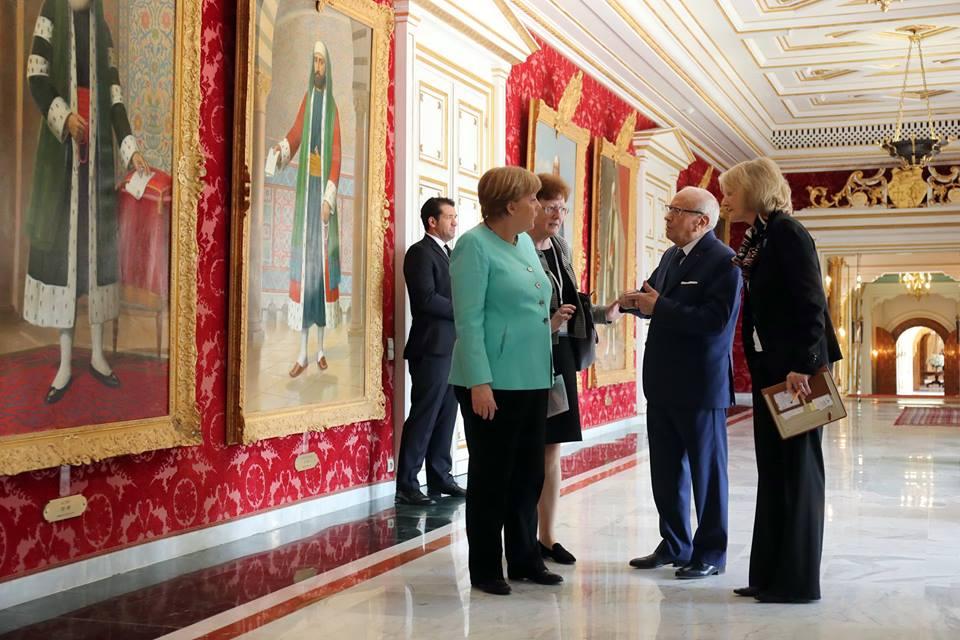 Angela Merkel - Béji Caïd Essebsi