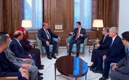 Tunis – Damas : Des parlementaires tunisiens à la manœuvre
