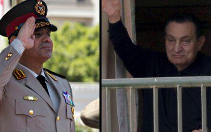 Egypte : Al-Sissi «libère» Moubarak