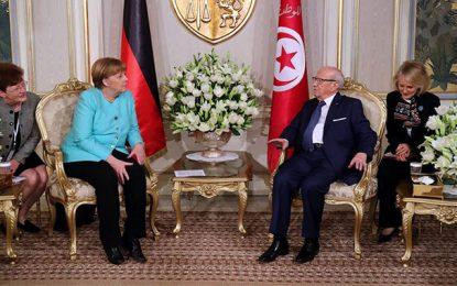 Merkel : «L'Europe veut traiter avec un gouvernement tunisien fort»