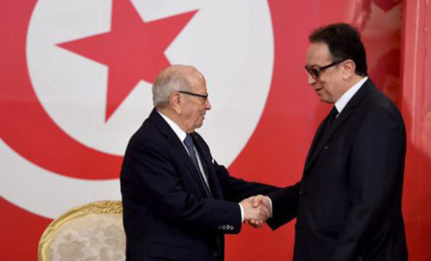 Béji et Hafedh Caid Essebsi