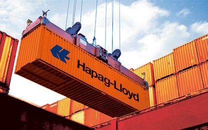 Hapag-Lloyd augmente ses tarifs sur le port de Radès