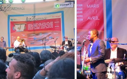 Night in Tunis : Wesley et Clayton enchantent l'avenue Bourguiba