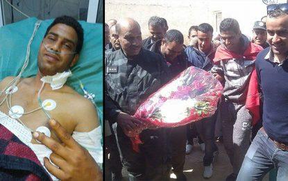 Blessé dans l'attaque de Kébili, l'agent Jelili quitte l'hôpital