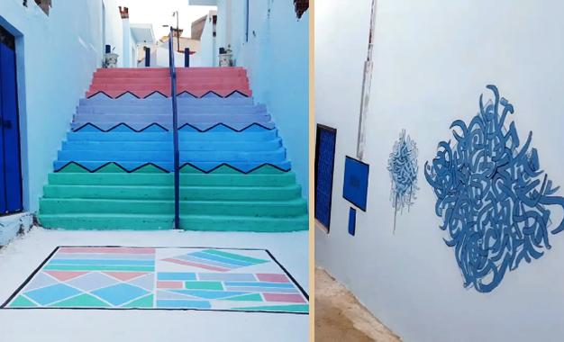 ksibet el mediouni des habitants colorent et gaient leur quartier kapitalis. Black Bedroom Furniture Sets. Home Design Ideas