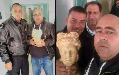Trafic de pièces archéologiques : Trois individus arrêtés à Mahdia