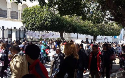 Tunis : Des parents manifestent contre les syndicats des enseignants