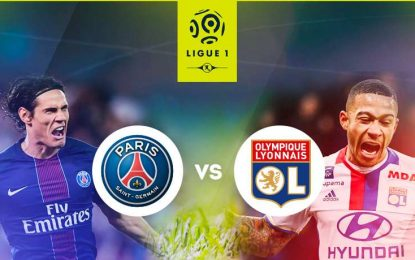 PSG-Lyon: : match en Live streaming