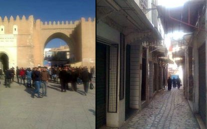 Sfax : Les commerçants protestent contre le commerce parallèle