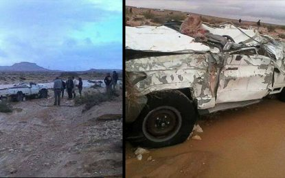 Tataouine : Deux hommes meurent noyés dans l'oued Martaba