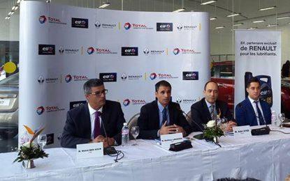 Tunisie : Total et Renault reconduisent leur partenariat pour 5 ans