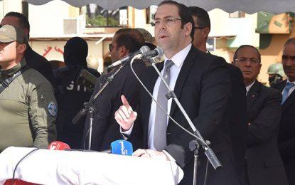Ben Guerdane : Chahed chahuté pendant son discours