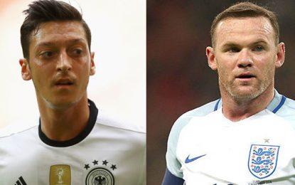 Angleterre-Allemagne: match amical en streaming