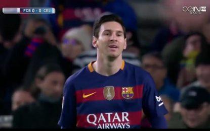 Barcelone-Celta Vigo en direct / Live streaming