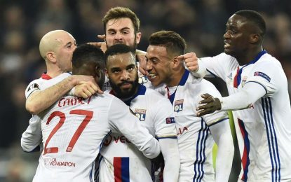 Lyon-Roma: match en direct / Live streaming