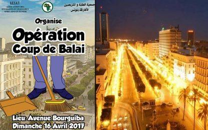 Les Subsahariens engagés dans la propreté des rues de Tunis