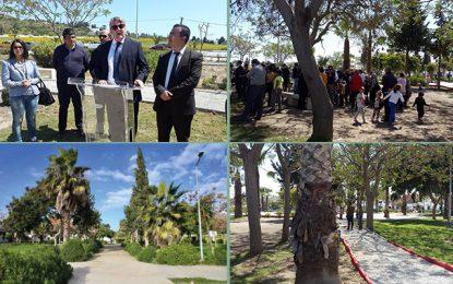 Carthage: Le parc Hedi Chaker réouvert après réaménagement