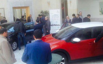 Les loueurs de voitures au séminaire d'Aures Auto