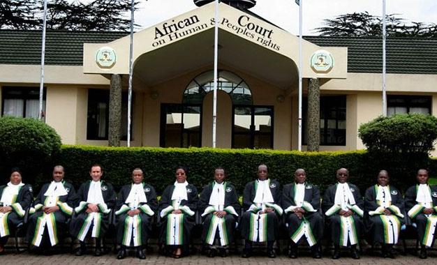 """Résultat de recherche d'images pour """"Cour africaine des droits de l'homme"""""""