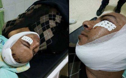 Gafsa : Deux délinquants tentent de tuer un policier