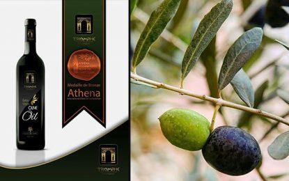 L'huile d'olive tunisienne Triomphe Thuccabor primée en Grèce