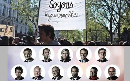 France: Les «Ingouvernables» en guerre contre «la farce électorale»