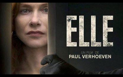 Isabelle Huppert à la sortie tunisienne du film ''Elle''