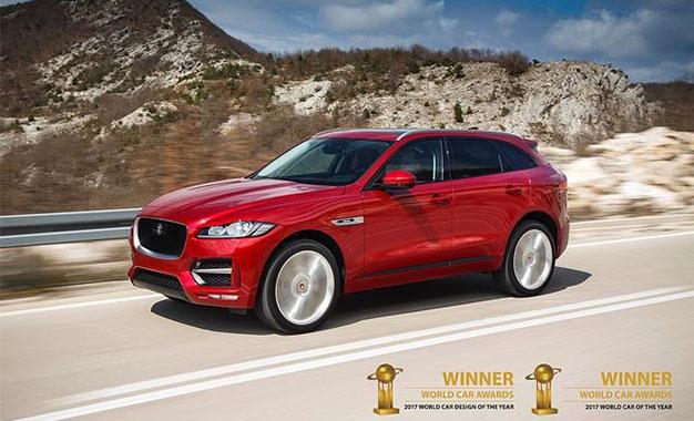 jaguar f pace la plus belle voiture du monde en 2017. Black Bedroom Furniture Sets. Home Design Ideas
