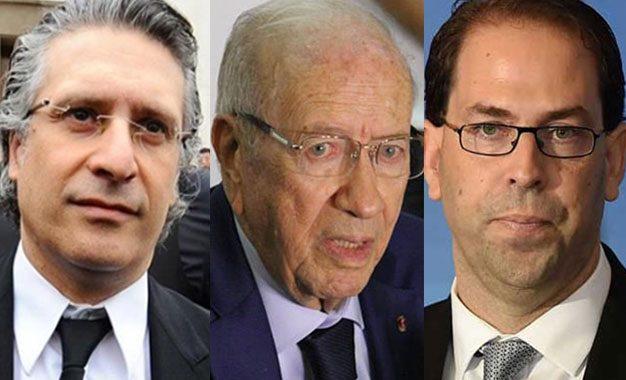 Chahed & Caïd Essebsi et Caïd Essebsi & Karoui