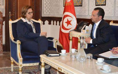 L'ambassadeur Rubinstein chez la ministre des Finances