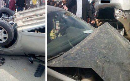 Bac Sport : Cinq élèves blessés dans un accident à Mahdia