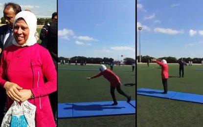 Manouba : Souad (64 ans) passe son Bac sport avec brio