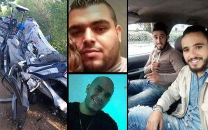 Mateur : Quatre morts et un blessé grave dans un accident