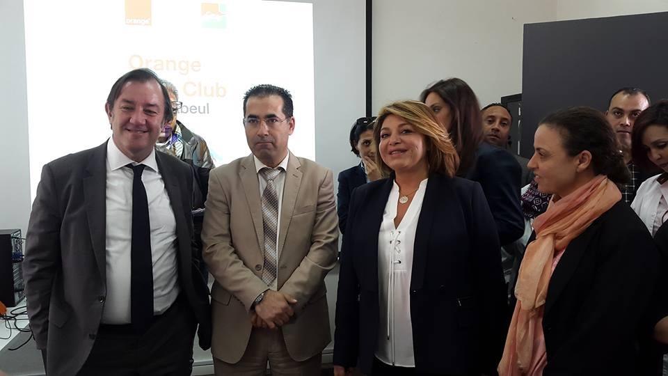 Thierry Millet, Ferid Landolsi et Asma Ennaïfar