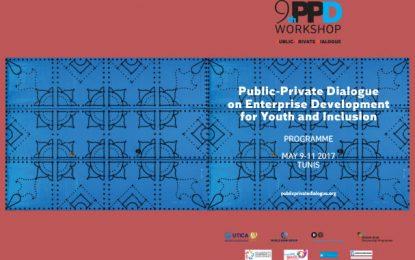 Utica:Le 9e Dialogue privé public à Tunis du 9 au 11 mai 2017