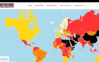 Liberté de la presse: La Tunisie perd une place au classement mondial