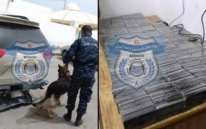 Ras Jedir : Un Libyen arrêté en possession de 187 kg de cannabis