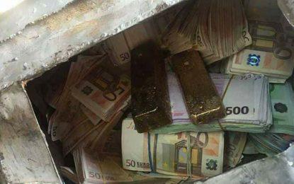 Ras Jedir : Saisie de 2 lingots d'or d'une valeur de 500.000€
