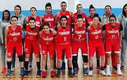Les Tunisiennes àla phase finalede AfroBasket-2017